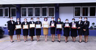 ผู้บริหารและตัวแทนครูโรงเรียน เข้ารับรางวัลแห่งความสำเร็จของการพัฒนา คุณภาพการศึกษา ผ่านผลการทดสอบระดับชาติ ประจำประการศึกษา 2563